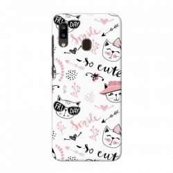 Buy Samsung Galaxy A20 Kitty Mobile Phone Covers Online at Craftingcrow.com
