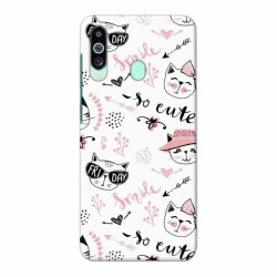 Buy Samsung M40 Kitty Mobile Phone Covers Online at Craftingcrow.com