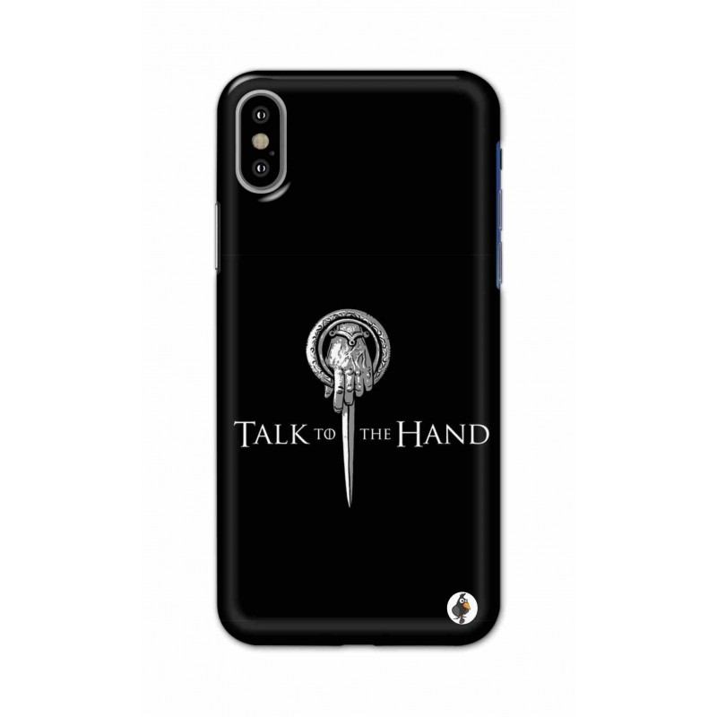 Apple Iphone X - Talk to the Hand  Image