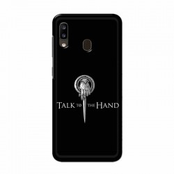 Buy Samsung Galaxy A20 Talk to the Hand Mobile Phone Covers Online at Craftingcrow.com