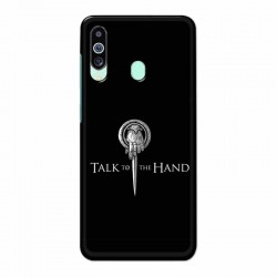 Buy Samsung M40 Talk to the Hand Mobile Phone Covers Online at Craftingcrow.com
