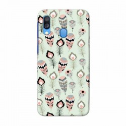 Buy Samsung Galaxy A40 Feather Mobile Phone Covers Online at Craftingcrow.com