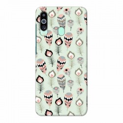Buy Samsung M40 Feather Mobile Phone Covers Online at Craftingcrow.com
