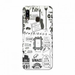 Buy Samsung Galaxy A20 Friends Mobile Phone Covers Online at Craftingcrow.com
