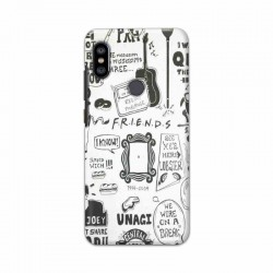 Buy Xiaomi Redmi Note 6 Pro Friends Mobile Phone Covers Online at Craftingcrow.com
