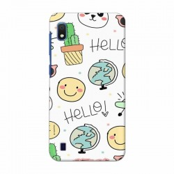 Buy Samsung Galaxy A10 Hello Mobile Phone Covers Online at Craftingcrow.com
