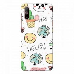 Buy Samsung Galaxy A60 Hello Mobile Phone Covers Online at Craftingcrow.com