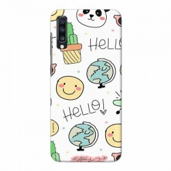 Buy Samsung Galaxy A70 Hello Mobile Phone Covers Online at Craftingcrow.com
