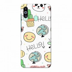Buy Samsung M40 Hello Mobile Phone Covers Online at Craftingcrow.com