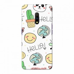 Buy Oppo Realme X Hello Mobile Phone Covers Online at Craftingcrow.com