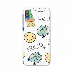 Buy Samsung Galaxy M10 Hello Mobile Phone Covers Online at Craftingcrow.com