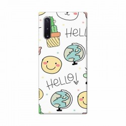 Buy Samsung Galaxy Note 10 Hello Mobile Phone Covers Online at Craftingcrow.com