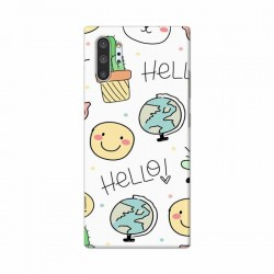 Buy Samsung Galaxy Note 10 Pro Hello Mobile Phone Covers Online at Craftingcrow.com