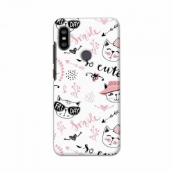 Buy Xiaomi Redmi Note 6 Pro Kitty Mobile Phone Covers Online at Craftingcrow.com