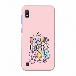 Buy Samsung Galaxy A10 Be Proud Mobile Phone Covers Online at Craftingcrow.com