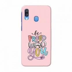 Buy Samsung Galaxy A40 Be Proud Mobile Phone Covers Online at Craftingcrow.com