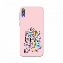 Buy Samsung Galaxy M10 Be Proud Mobile Phone Covers Online at Craftingcrow.com
