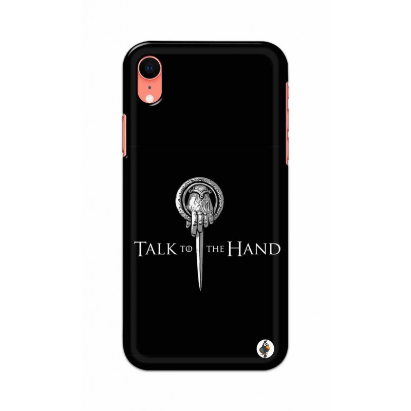 Apple Iphone XR - Talk to the Hand  Image