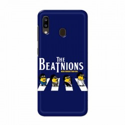 Buy Samsung Galaxy A20 Beatles Minion Mobile Phone Covers Online at Craftingcrow.com