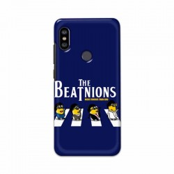 Buy Xiaomi Redmi Note 6 Pro Beatles Minion Mobile Phone Covers Online at Craftingcrow.com