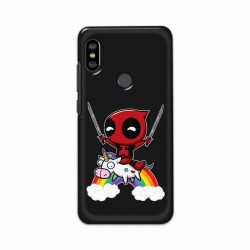 Buy Xiaomi Redmi Note 6 Pro Deadpool Mobile Phone Covers Online at Craftingcrow.com
