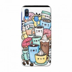 Buy Samsung Galaxy A40 Kawaii Coffee Mobile Phone Covers Online at Craftingcrow.com