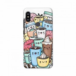 Buy Xiaomi Redmi Note 6 Pro Kawaii Coffee Mobile Phone Covers Online at Craftingcrow.com