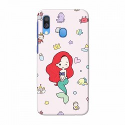 Buy Samsung Galaxy A40 Mermaid Mobile Phone Covers Online at Craftingcrow.com