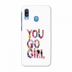 Buy Samsung Galaxy A40 You Go Girl Mobile Phone Covers Online at Craftingcrow.com
