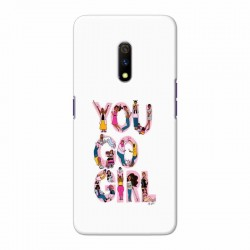 Buy Oppo Realme X You Go Girl Mobile Phone Covers Online at Craftingcrow.com
