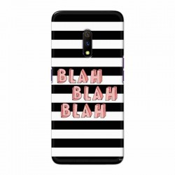 Buy Oppo Realme X Blah Blah Blah Mobile Phone Covers Online at Craftingcrow.com