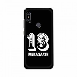 Buy Xiaomi Redmi Note 6 Pro 13 Mera Saath Mobile Phone Covers Online at Craftingcrow.com