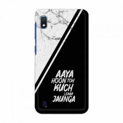 Buy Samsung Galaxy A10 Aaya Hoon Mobile Phone Covers Online at Craftingcrow.com