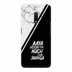 Buy Oppo Realme X Aaya Hoon Mobile Phone Covers Online at Craftingcrow.com