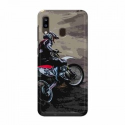 Buy Samsung Galaxy A20 Dirt Race Mobile Phone Covers Online at Craftingcrow.com
