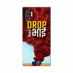 Buy Samsung Galaxy Note 10 Pro Drop Hai Bhai Mobile Phone Covers Online at Craftingcrow.com