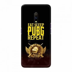 Buy Oppo Realme X Eat Sleep PUBG Mobile Phone Covers Online at Craftingcrow.com