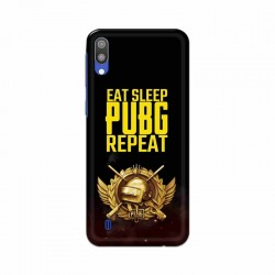 Buy Samsung Galaxy M10 Eat Sleep PUBG Mobile Phone Covers Online at Craftingcrow.com