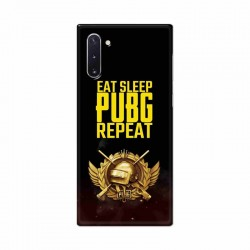 Buy Samsung Galaxy Note 10 Eat Sleep PUBG Mobile Phone Covers Online at Craftingcrow.com