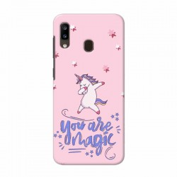 Buy Samsung Galaxy A20 Magic Mobile Phone Covers Online at Craftingcrow.com