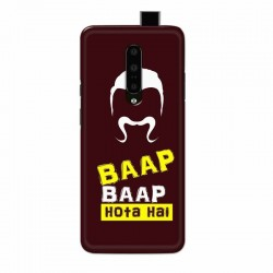 Buy One Plus 7 Pro Baap Baap Hota Hai Mobile Phone Covers Online at Craftingcrow.com
