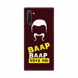 Buy Samsung Galaxy Note 10 Baap Baap Hota Hai Mobile Phone Covers Online at Craftingcrow.com