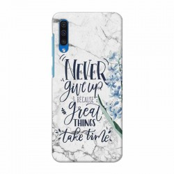 Buy Samsung Galaxy A50 Never Give Up Mobile Phone Covers Online at Craftingcrow.com