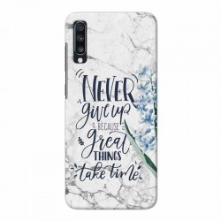 Buy Samsung Galaxy A70 Never Give Up Mobile Phone Covers Online at Craftingcrow.com