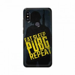 Buy Xiaomi Redmi Note 6 Pro PUBG Repeat Mobile Phone Covers Online at Craftingcrow.com
