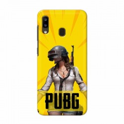 Buy Samsung Galaxy A20 PUBG Mobile Phone Covers Online at Craftingcrow.com
