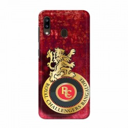 Buy Samsung Galaxy A20 Royal Challengers Mobile Phone Covers Online at Craftingcrow.com