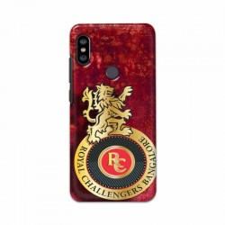 Buy Xiaomi Redmi Note 6 Pro Royal Challengers Mobile Phone Covers Online at Craftingcrow.com