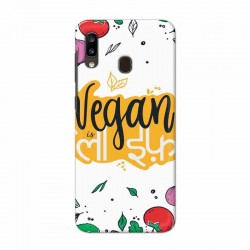 Buy Samsung Galaxy A20 Vegan Life Mobile Phone Covers Online at Craftingcrow.com