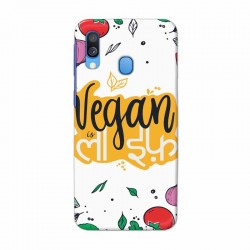 Buy Samsung Galaxy A40 Vegan Life Mobile Phone Covers Online at Craftingcrow.com